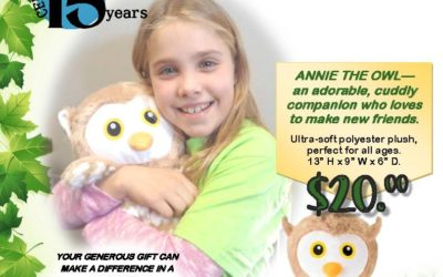 Annie The Owl Fundraiser – Support The Boys & Girls Club of Langlade County